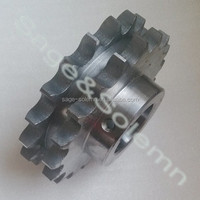 Customized S45C A3 Non-Standard Industrial Sprocket / Machinical Sprocket / Chain Drive Sprocket