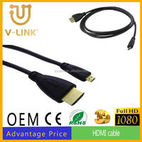 AM/AM cable hdmi a euroconector hdmi to micro cable for CRT monitor
