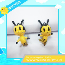 Cute 3D bee action figure for kids