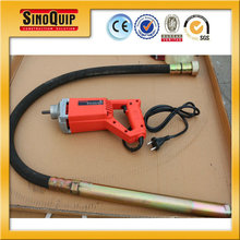 Model SZN35C 0.8kw small hand held concrete vibrator for Homemade