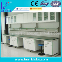 Stainless steel work bench metal laboratory furniture China supplier