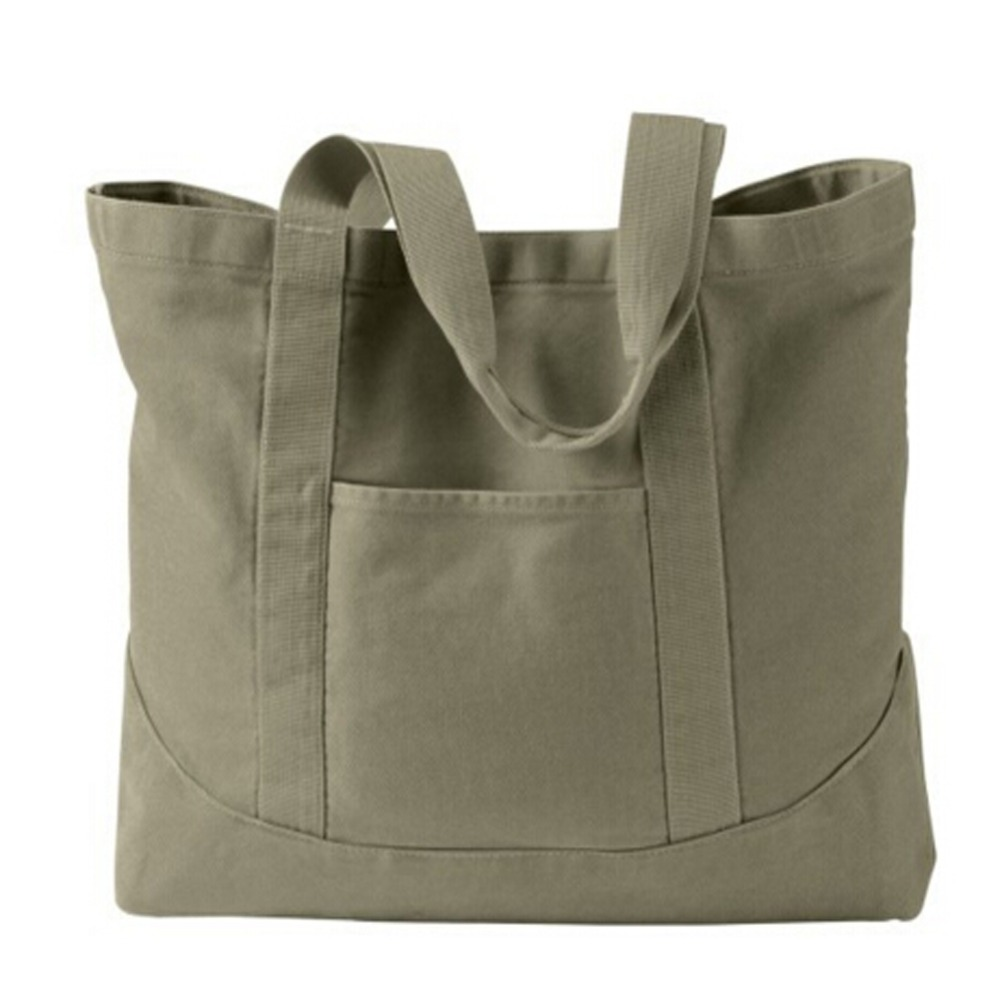 USA Classic Handle Women Heavy Duty Canvas Tote Bag