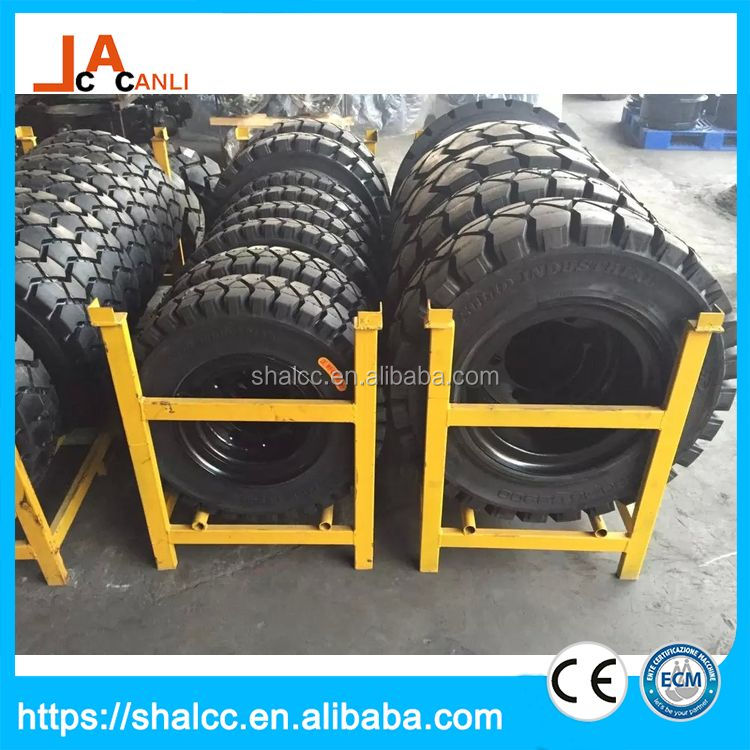 Premium quality no pollution small forklift tire wheel