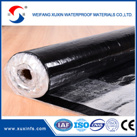 PE self adherent bitumen waterproofing roll/roofing membrane