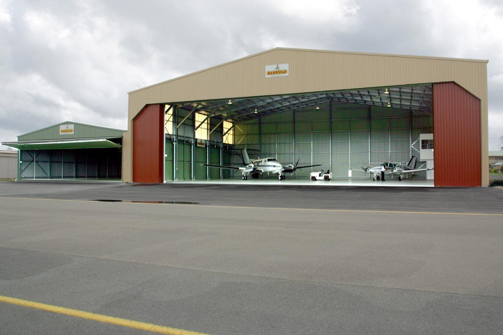 Heavy Steel Structure Hangar