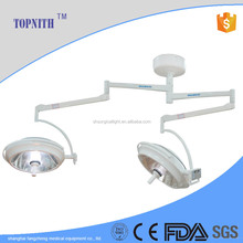 LED whole reflection operating light double arm for surgical room