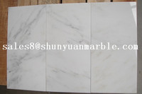 Supply white dolomite marble tile carrara golden white marble price