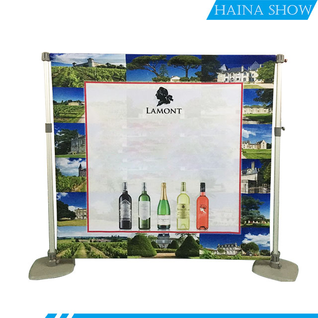 Aluminum Exhibition Display Backdrop Stand Fast Tension Fabric Trade <strong>Show</strong> for Event