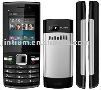 Low price 3 SIM mobile phone X3
