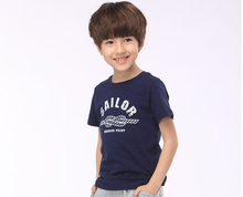 China Wholesale Fashion 100% Cotton Baby Kids t shirts