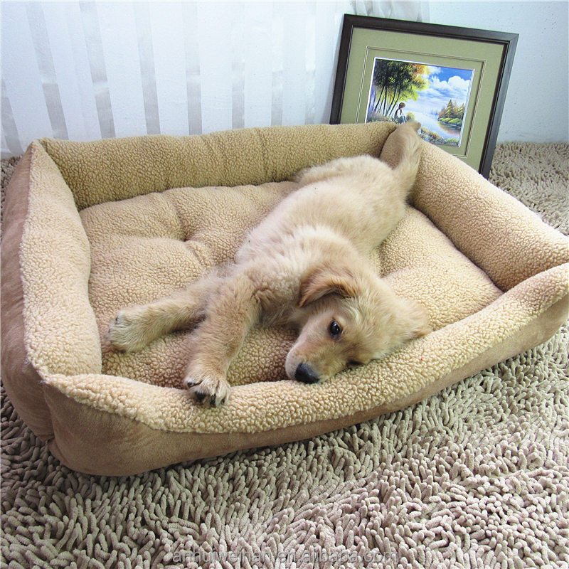 Pet accessories factory direct wholesale foldable large soft dog beds
