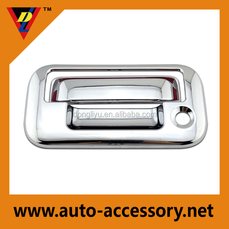 Chrome car exterior accessories for 2014 ford f 150 tail gate cover buy car exterior for Ford f 150 exterior accessories