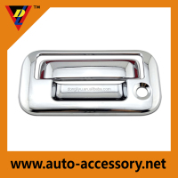 Chrome car exterior accessories for 2014 ford f-150 tail gate cover
