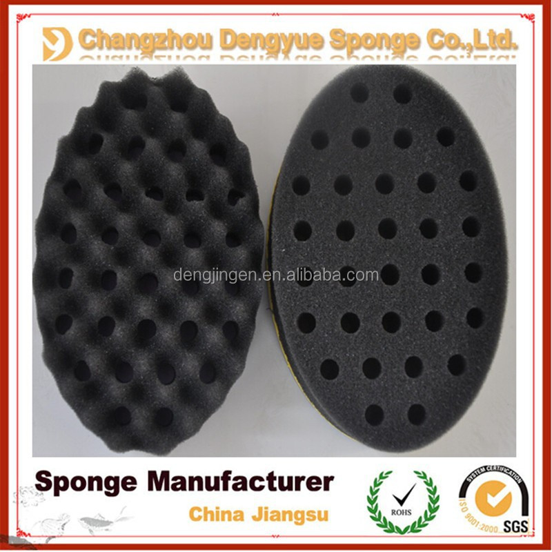 2015 OEM supply new styles hair twists hair sponge/magic twist hair brush sponge for african american