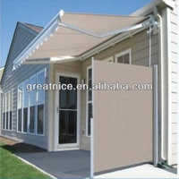 side awning screen
