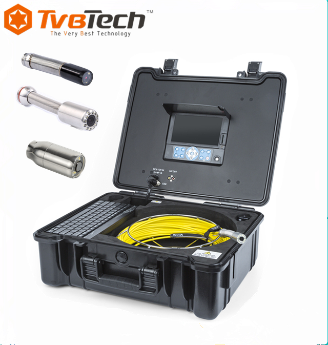 CCTV Camera With DVR and 20/30M Video Inspection Camera Drain Camera for Sale