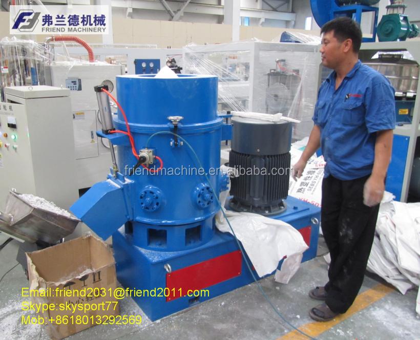 Plastic PE/PP/LDPE Film Recycling Agglomerator/Film Recycling Agglomerator