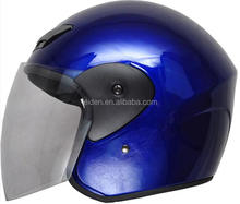 2017 high quality Motorcycle helmet 3/4 Open Face Half Helmet With Full Face shield Visor