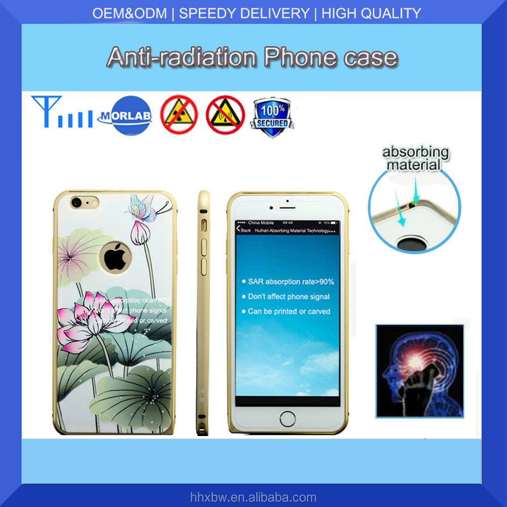 Save 50% 2016 new arrival with SGS certificate for iphone 6 emf shield phone case