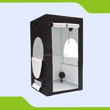 PVC free 600D Garden Hydroponic Grow Tent for indoor uses 120 x 120 x 215 cm