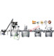 Automatic powder filling machine with auger filler pharmaceutical powder dosing filling machine