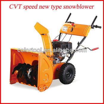Snow gasoline snow blower
