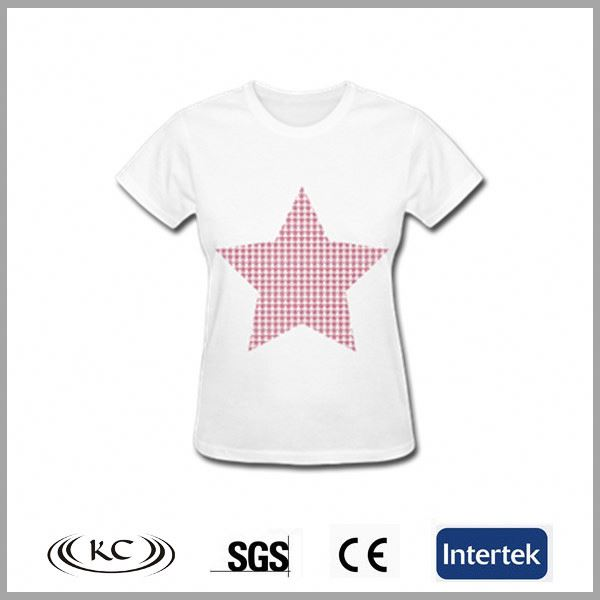 good price uk 100%cotton new design used lady t-shirt