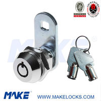 MK100BXS-17 High Security Pin Mechanism Furniture Cam Lock