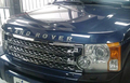 CHROME front grille For LAND-ROVER DISCOVERY 3, front bumper mesh grille for lr3