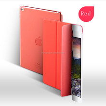 New Arrival Colorful Case ,3 in 1 PU Leather Flip Case for Ipad, Smart Cover Case for Ipad Air2
