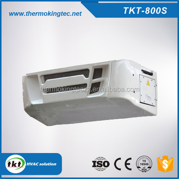 TKT-800S keep fresh DC powered sub diesel Engine refrigerated truck body