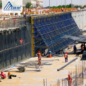 ZULIN single-side support construction shuttering system formwork for concrete wall
