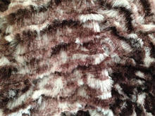 Make-to-order new desgin soft 100 polyester faux fur fabric used clothing of China supplier