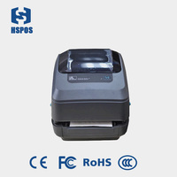 Original Zebra GT800 old model GX430T 300dpi (4IPS) Barcode Printer for printing PET,