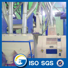 Automatic corn flour processing line/corn grits mill