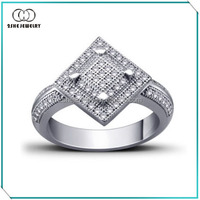 2She Jewelry China Manufacturing Fashion latest design ladies rings