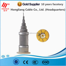 Medium voltage ACSR dog conductor /Aluminum conductor steel reinforced cable with CE