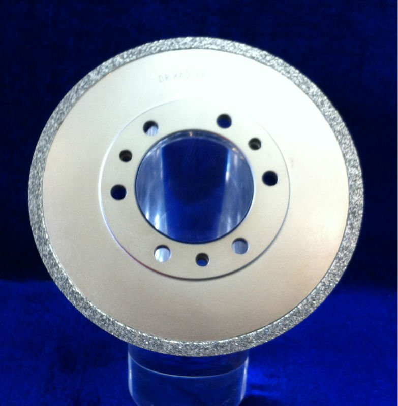 Diamond dressing rollers for vitrified CBN wheels for grinding camshaft