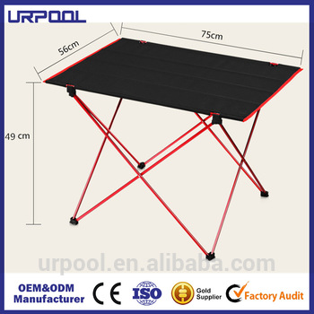 New Ultra-light Aluminium Alloy Portable Foldable Folding Table Desk Camping Outdoor Picnic Travel Fishing