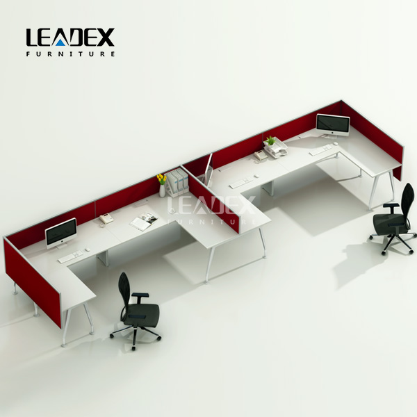 Wholesale Alibaba 2 Seats Staff Stuff Computer Plywood Desk