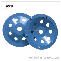 "4"", 5"", 7"" PCD grinding wheel for epoxy, glue, paint, mastic removal from concrete floors"