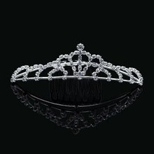 High quality 925 Silver Pageant Crowns Cheap Tiaras