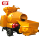 Mini Concrete Pump with Mixer , and concrte mixer without pump