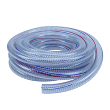 Vacuum line non toxic pvc steel wire reinforced hose