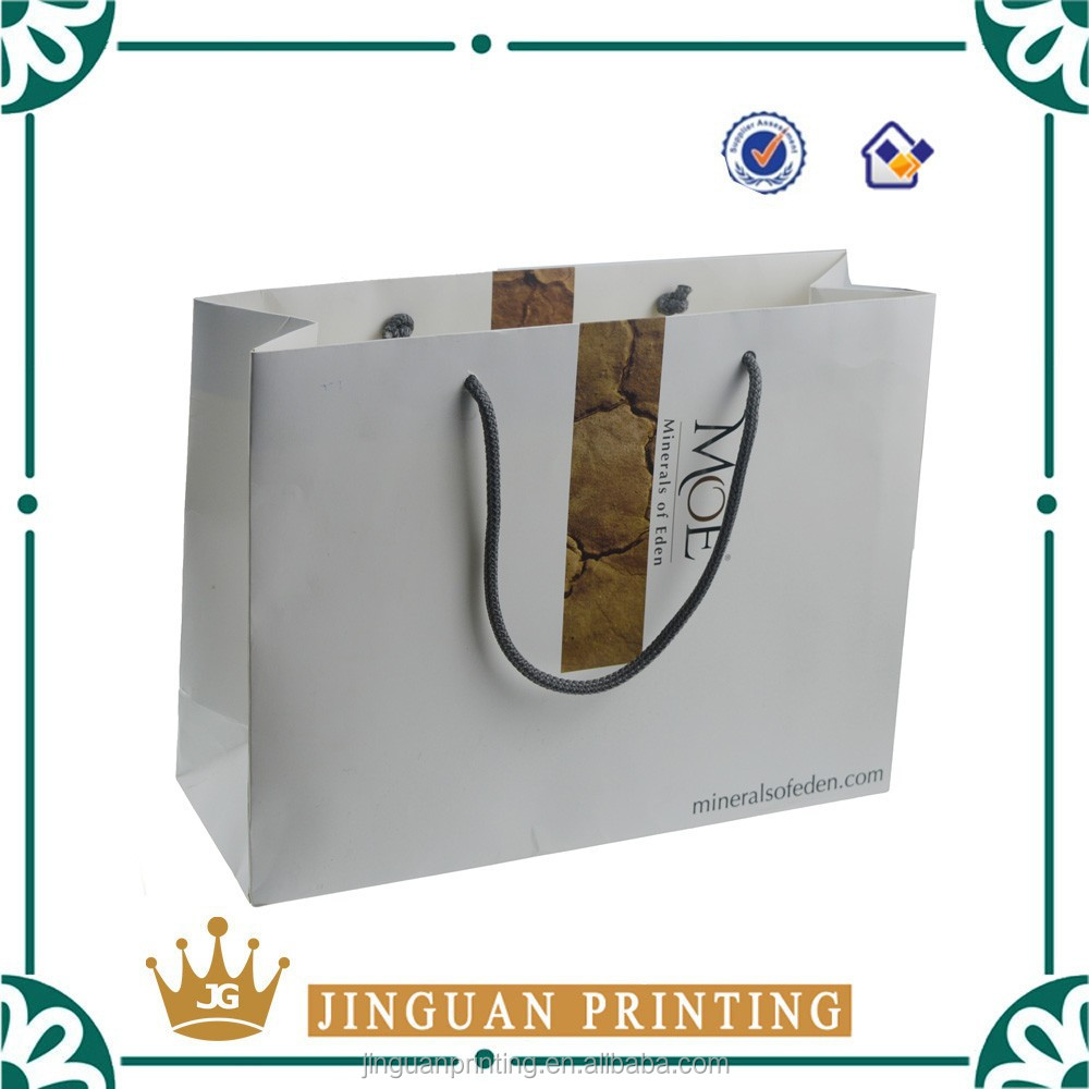 2014 top popular matte laminated shopping paper bag for packaging,gift packing bags printing guangzhou factory