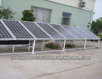 Both AC and DC output 3000w solar panels aluminum bracket