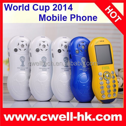 Original 1.44 Inch TFT Screen Special World Cup 2014 F9 GSM Dual SIM Phone