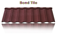 color steel roof tile tegula roof tile , metal roofing sheets, red color metal roof tile with good quality