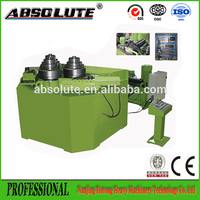 2017 best selling electric angle steel rolling round machine/electric iron roller