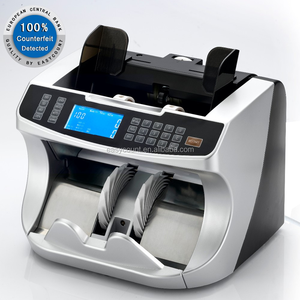 EC950 Excellent Note Processing Banknote Counter for Colombian peso Currency Counter Denomination